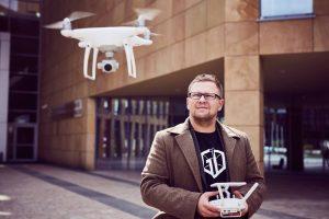 Fotografia biznesowa Kraków | zdjęcia wizerunkowe portret biznesowy z dronem