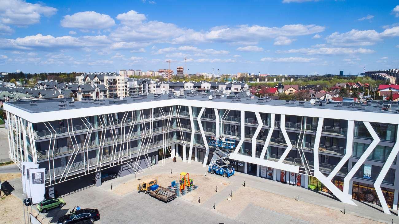 zdjęcie z drona Rzeszów, budynek mieszkalny na sprzedaż, wynajem, deweloper